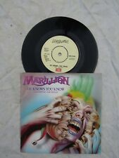 MARILLION HE KNOWS YOU KNOW / CHARTING THE SINGLE emi 5362