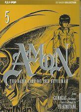 JP1228 - Manga - J-Pop - Amon The Dark Side Of The Devilman 5 - Nuovo !!!