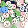 50/100/500pcs Smile Plastic Buttons Kid's DIY Sewing Appliques PT129