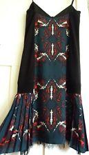 "BNWT DIESEL Black Gold Stunning ""Duke A "" Dress, Size 40 (UK 12) RRP £400+, New!"
