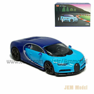1:64 Bugatti Chiron Model Car Alloy Diecast Vehicle Collection Kids Gift Blue