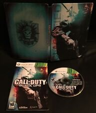XBOX 360 ONE ✔ CALL OF DUTY BLACK OPS 1 HARDENED LIMITED EDITION STEEL ✔ TESTED