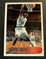 1996-97 Topps #146 Antoine Walker  RC - Celtics NM