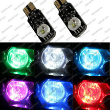 High Power 3W RGB Multicolor LED bulb Parking lights t10 194 (2 Pieces)