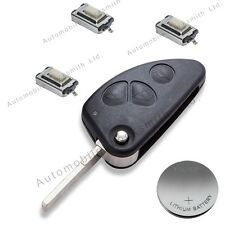 Repair Refurbishment Kit for Alfa Romeo 147 156 166 GT 3 button remote flip key