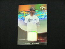 HANLEY RAMIREZ GAME-USED RELIC CARD--2011 TRIPLE THREADS #'D TO 27 !  #TTUSR-118