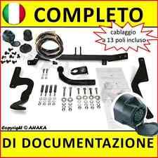 Gancio di traino fisso Citroen Xsara Picasso 1999-2010 kit elettrico 13-poli