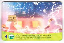 CHYPRE 5 £ télécarte-Akamas Forest-utilisé