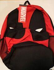 Marvel DC Comics Deadpool Backpack School Book Bag Movie Gear NWT Universal (AA)