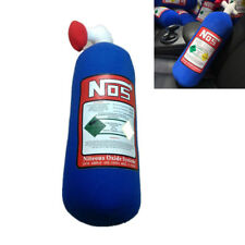 28*10cm NOS Nitrous Oxide Bottle Tank Pillow Plush Turbo JDM Toy For Car Travel