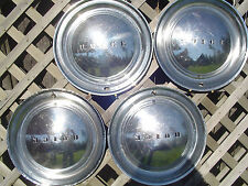 1949 1950 BUICK ROADMASTER SPECIAL SEDANETTE  HUBCAPS  WHEEL COVERS CENTER CAPS