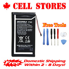Original OEM Motorola Moto E 2nd Gen Battery XT1527 XT1528 FT40 2240mAh + Tools