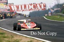 Gilles Villeneuve Ferrari 312 T3 Belgian Grand Prix 1978 Photograph 1