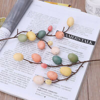 Foam Easter Egg Plastic Tree Branches Home Decoration Spring Party Decor