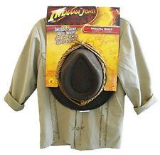 Indiana Jones Child Boys Costume Licensed Accessory Kit: Jacket Hat Whip