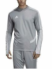 adidas Men's Soccer Tiro 19 Warm Up Top Grey (L)