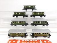 CJ472-1 #7x Märklin H0/AC 4040 Vagones 2. Clase 4051 Stg Usado