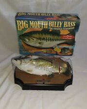 vintage Big Mouth Billy Bass Christmas Singing Fish Gemmy 1999 Jingle Bells.