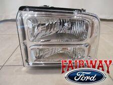 06 & 07 Super Duty F-250 F-350 F-450 F-550 OEM Ford Head Lamp Light DRIVER LEFT