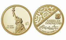 USA $1 Coin 2019 Commemorative (UNC) 创新系列 第一枚美国2019年最新版1元自由女神纪念币 硬币
