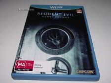 Resident Evil Revelations Nintendo Wii U PAL Preloved *Complete*