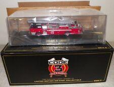 CODE 3 FIRE & RESCUE DIECAST 2008 CHICAGO MACK LADDER 15 LTD ED 1:64 NIB 12816