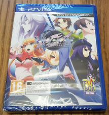 Sony PSVita Game Xblaze Code Embryo Brand New Sealed
