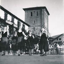 ASCAIN c. 1938 -Jeunes Filles Danseuses Costumes Pyrénées-Atlantiques - DIV 9340