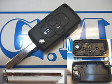 Chiave scocca cover guscio TELECOMANDO per PEUGEOT 1007 4007 807 con 4 TASTI