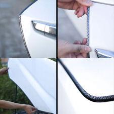 5-M Car Door Edge Guards U Shape Clear Trim Molding Carbon Fiber Seal Protectors