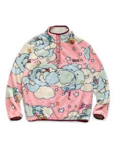 "KAPITAL ""Paralym Max Pattern Fleece Snap T"" Pink 4 Sizes"
