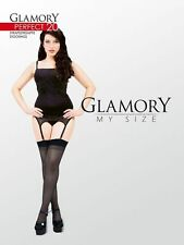 Strapsstrümpfe GLAMORY PERFECT 20den Straps Mieder Nylon Strümpfe Stockings