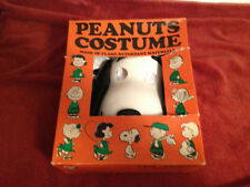 SNOOPY HOLLOWEEN COSTUME 1966 MINT NEVER WORN