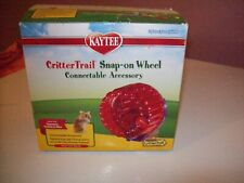 Kaytee Critter Trail Snap on Wheel Connectable Accessory