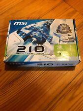 MSI NVIDIA GeForce 210 (N210-MD1G/D3) 1GB GDDR3 SDRAM PCI Express x16...