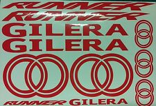 Gilera Runner new shape SP style Decals/Stickers  ALL  COLOURS AVAILABLE ST VX