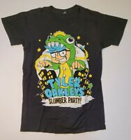 Tyler Oakley YouTuber Slumber Party Tshirt sz small Black Graphic T-shirt