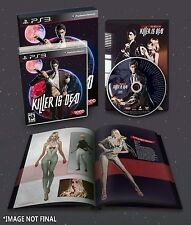 Killer Is Dead - Limited Edition w/ ArtBook & Music CD [PlayStation 3 PS3] NEW