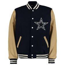 Mitchell & Ness DALLAS COWBOYS  Authentic Leather-Wool Varsity Jacket 44/LARGE