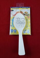 Rice cooker scoop spoon japan hand roll sushi white plastic curve non stick new
