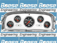 1959 Ford Fairlane Galaxie Billet Aluminum Gauge Panel Dash Insert Instrument