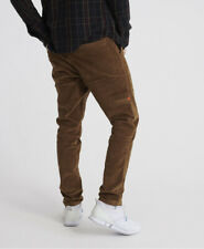 Superdry Mens Cord Utility Trousers