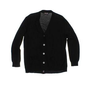 Kirkland Signature Women's 100% Extra Fine Merino Wool Cardigan - Black - XL