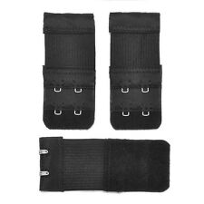 New 3Pcs Ladies 2/3 Hook Bra Extender Bra Extension Strap Underwear Belt Adding