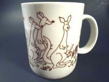 Vintage Papel Viva La Difference Kangaroo Coffee Mug Cup