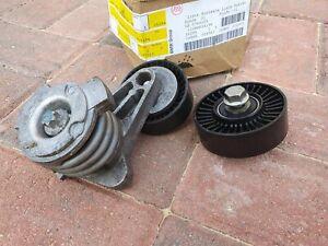 BMW 3.0 PETROL ENGINE BELT TENSIONER & PULLEYS > N53B30 for 530i 330i 630i etc