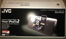 JVC NX-PN10 Compact Component System iPod iPhone Dock