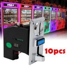 10xAdvanced Cpu Coin Selector Vertical Type Coin Acceptor Sorter for Arcade Game