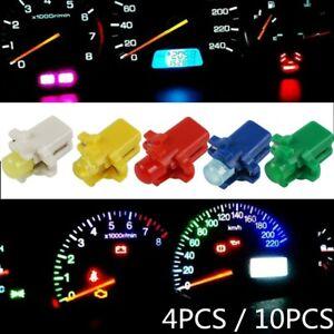 10x 4x B8.3D T5 5050 LED Instrument Indicator Light Dashboard Interior Bulbs 12V