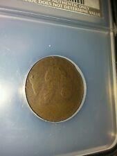 1794 half cent ncs low relief vg details damaged cohen 1A typical weak strike